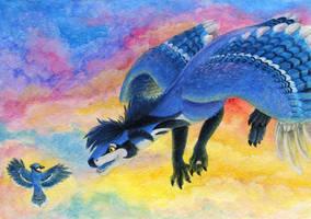 Commission: Blue Friend