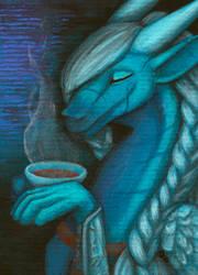 ACEO/ATC: Tea Time