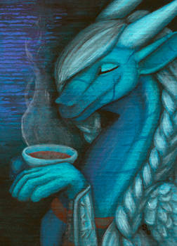 ACEO/ATC: Tea Time