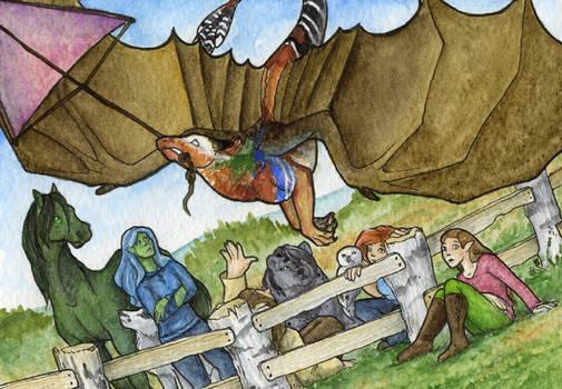 Contest/Event: Kite flies a... dragon?