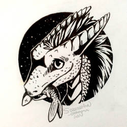 InkTober #1: Fish (Friendly Offer)