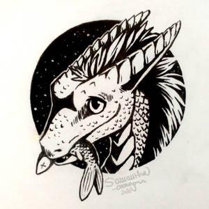 InkTober #1: Fish (Friendly Offer)