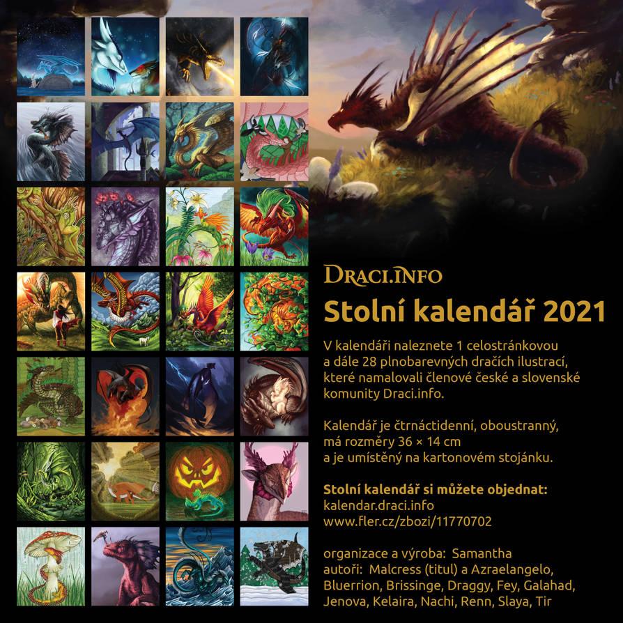 Draci stolni kalendar 2021