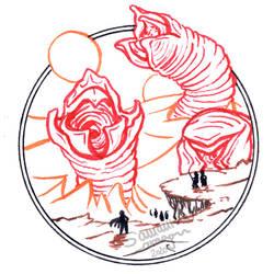 InkTober #13: Dune