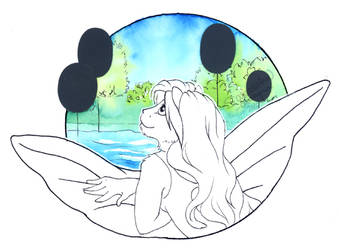 InkTober #28: Float