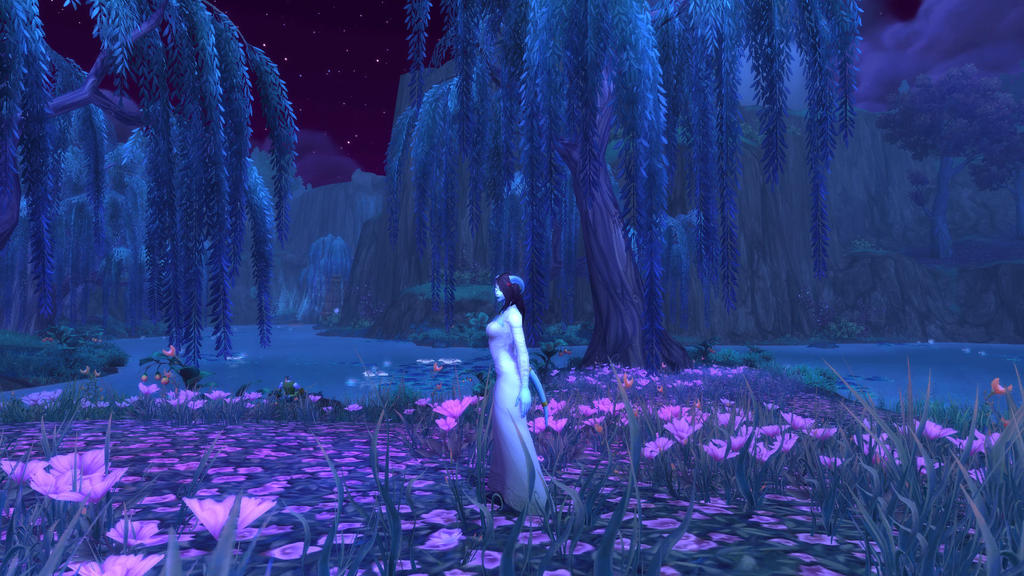Romantic Shadowmoon valley by safi-chan