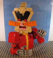 LEGO Dr. Robotnik / Eggman by Bricknave