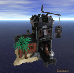 Captain Claw's Hideout by Bricknave