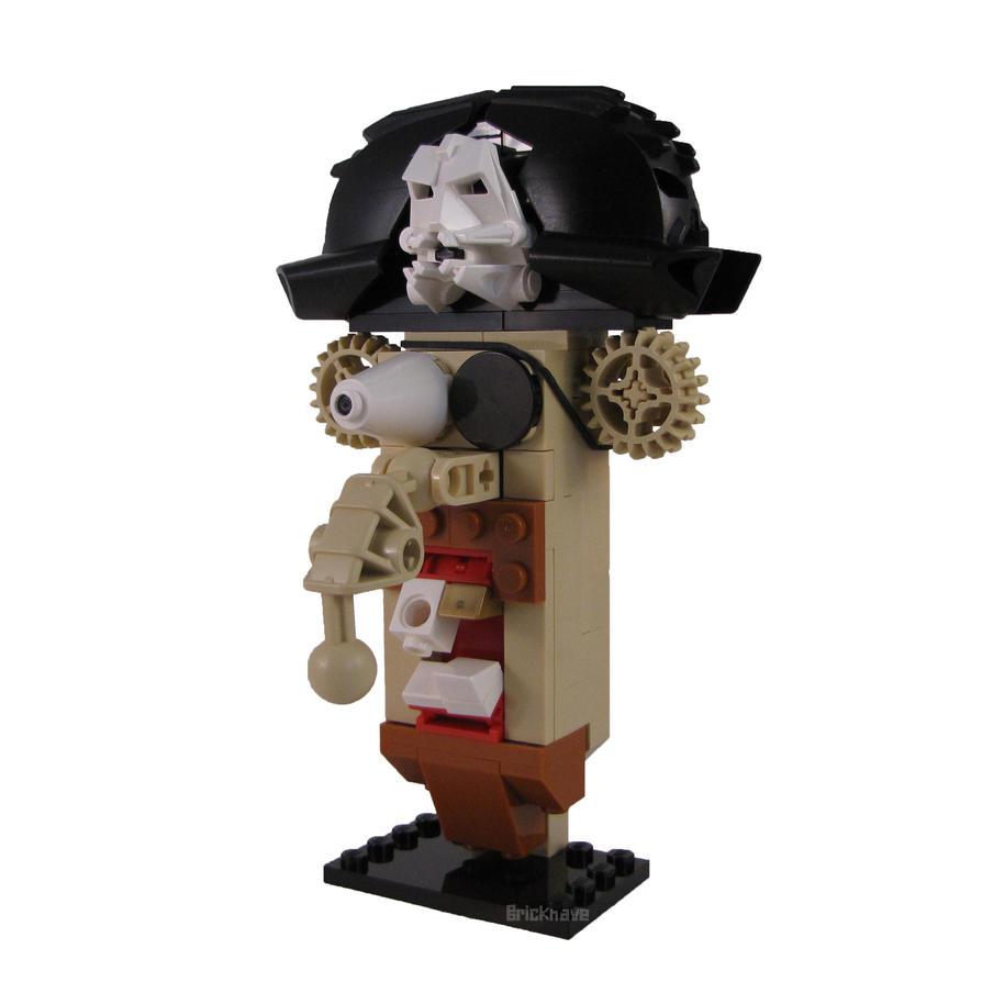 Surprised Pirate by Bricknave