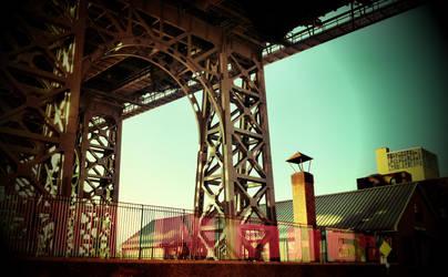 under the Williamsburg... by bklynTraveler