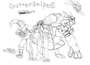 Lightning Dogs idea: Guttersnipes by BigBadShadowMan