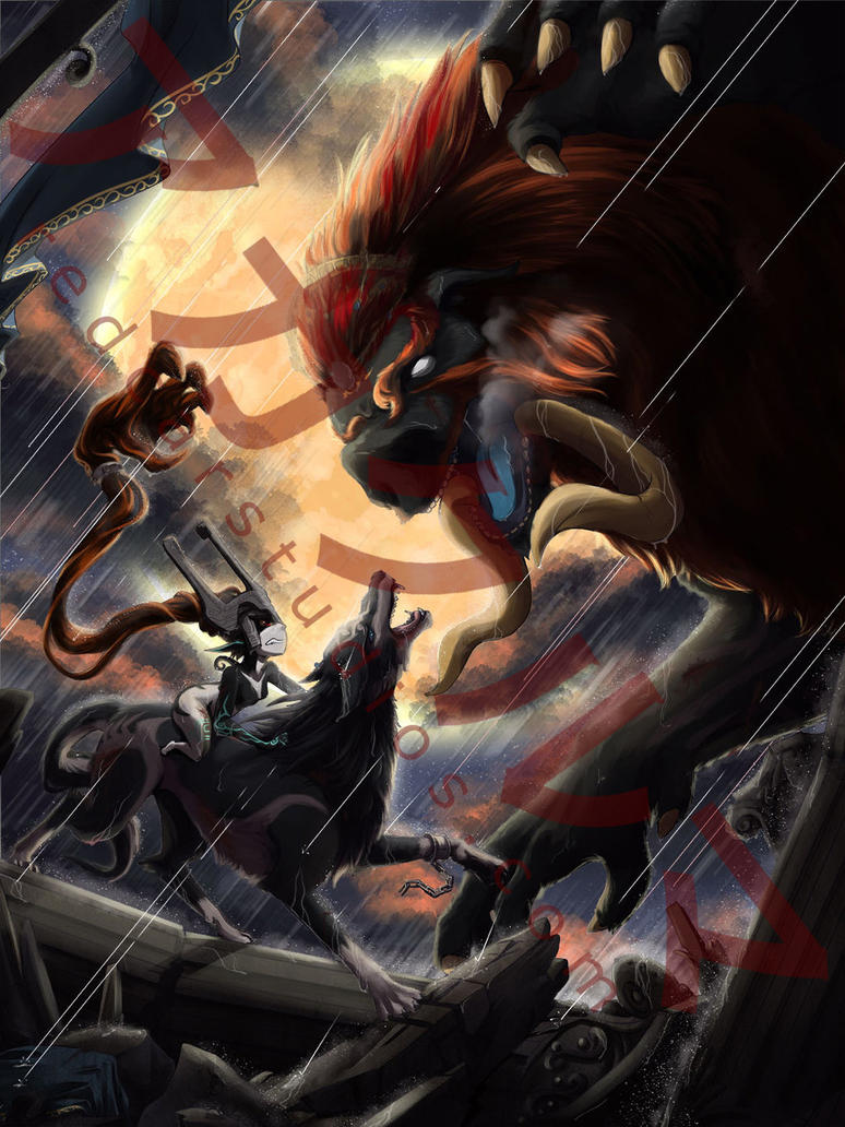 Battle of the Beasts by redcarstudios