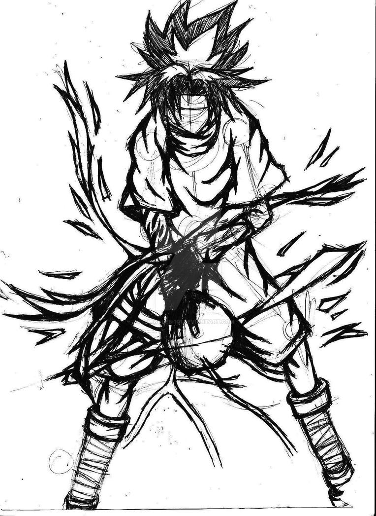 sasuke lightning blade by mini