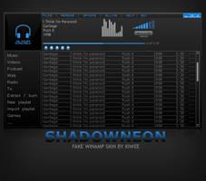 Shadowneon winamp skin by theKiwee