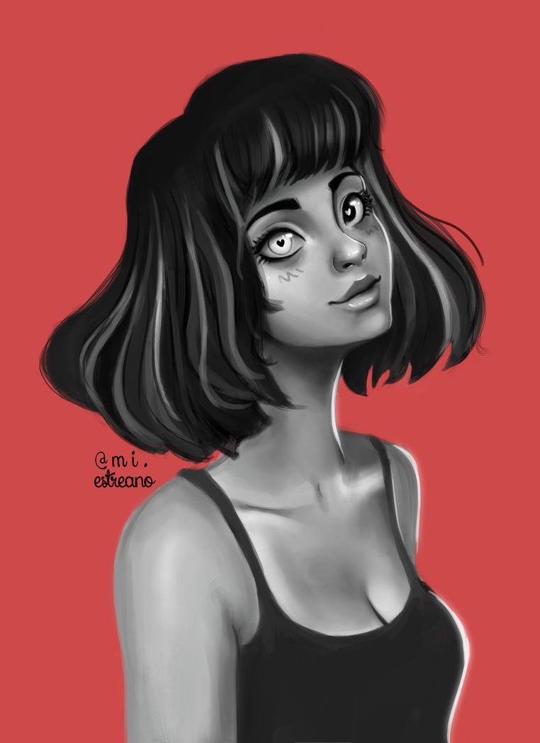Portrait Study by MichaellaMEstreano