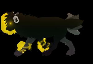 Kinsuke, the electric wolf