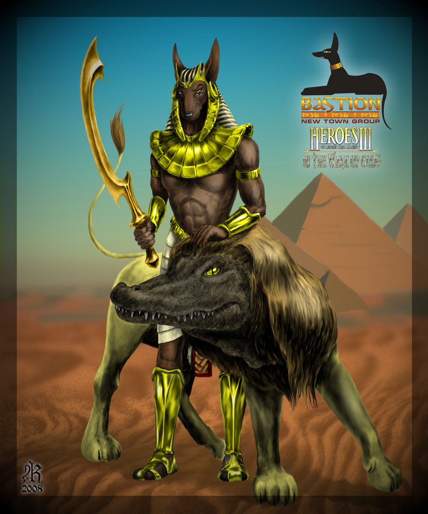 Anubis And Sekhmet
