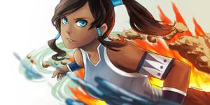 Avatar Korra by CNTran