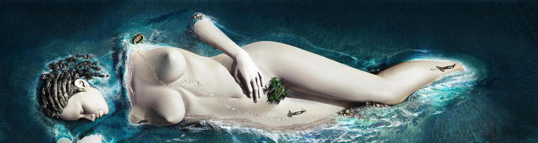 island by Jubran