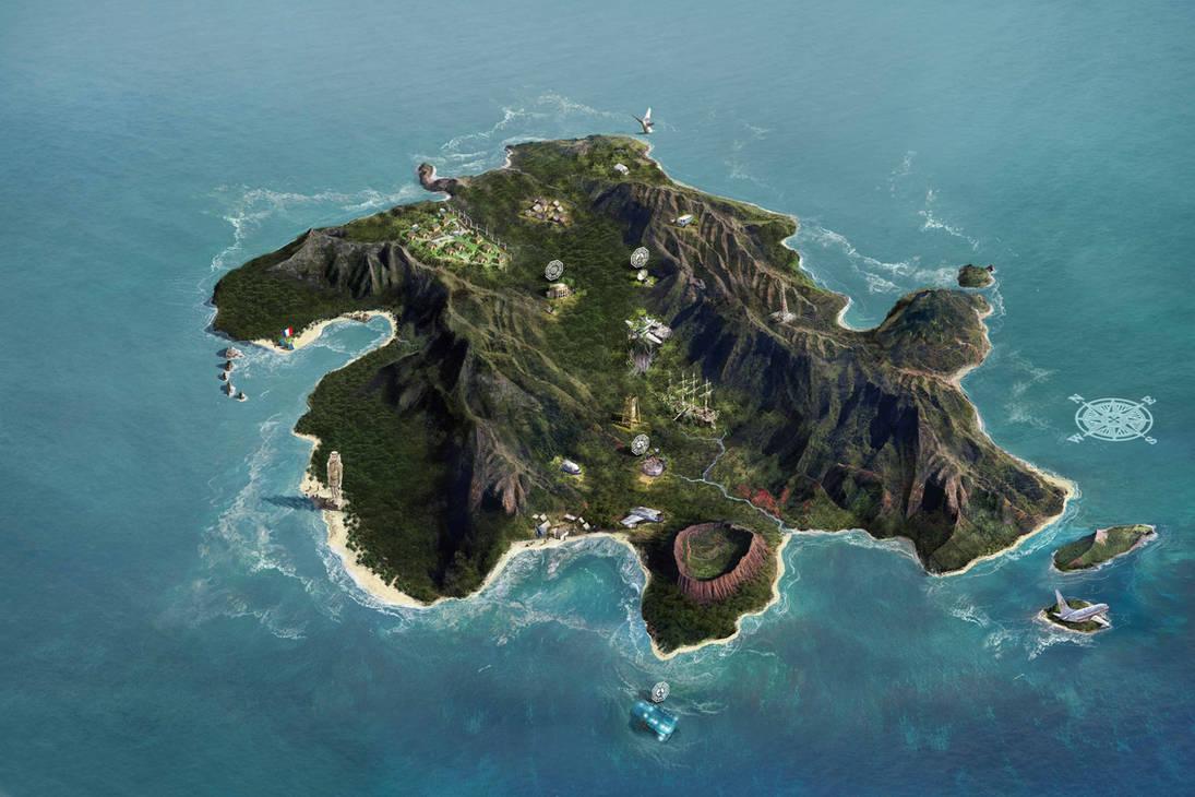 lost island by Jubran