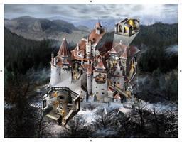 Bran Castle by Jubran
