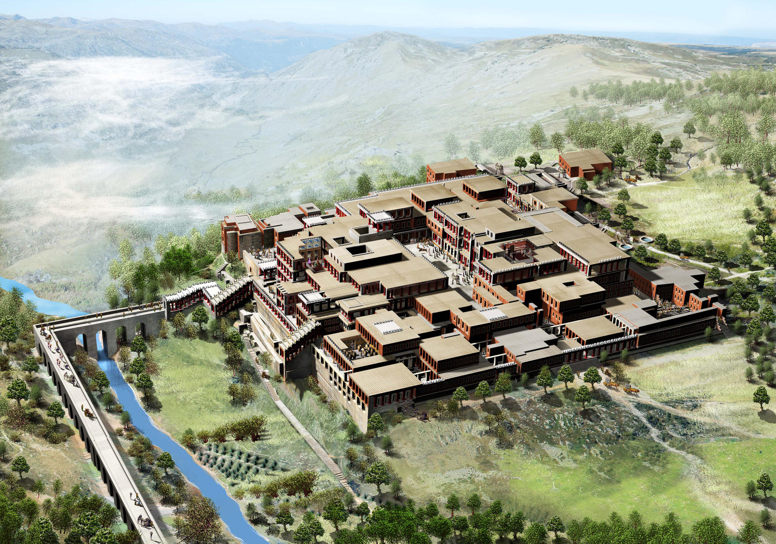 Knossos palace by Jubran on DeviantArt
