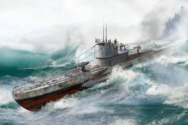 Submarine U-513