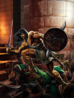 Conan revenge by Jubran