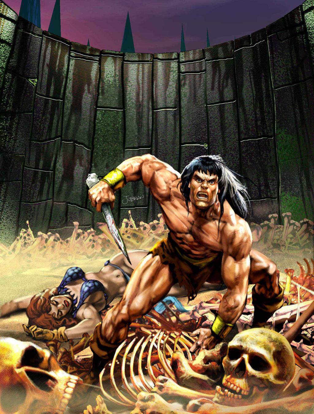 Conan the barb by Jubran