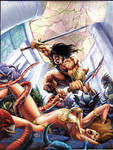 Conan cutting