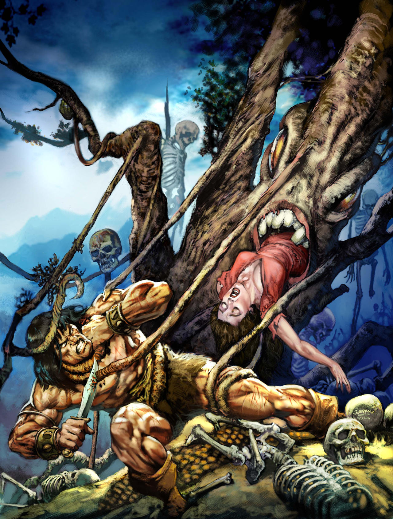 Conan Facing The Ugly Tree By Jubran On Deviantart Our cartoon videos are the part of attention for all the generation. deviantart