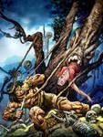 Conan facing the ugly tree