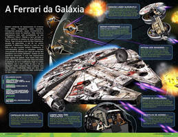 The millenium falcon by Jubran