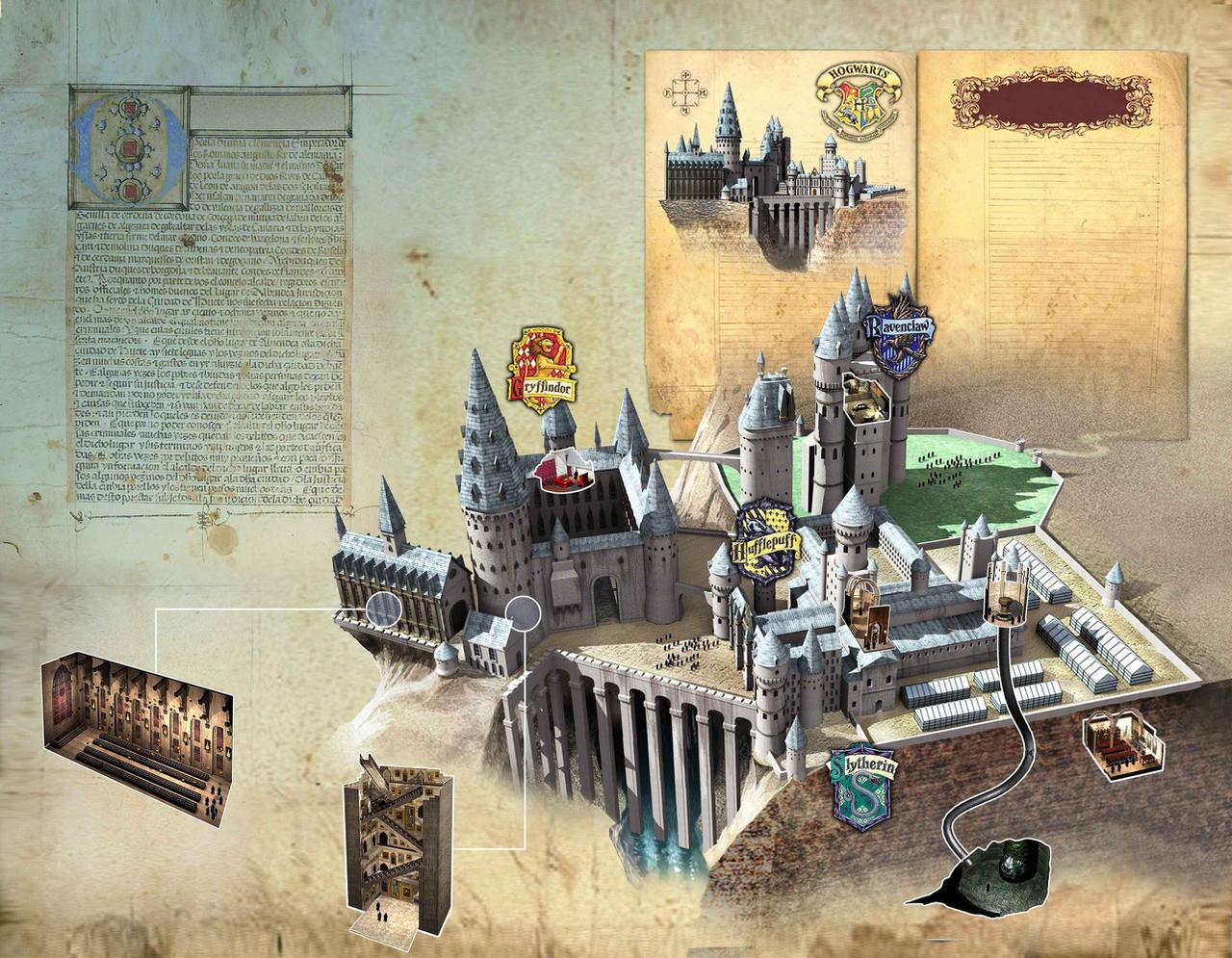 Hogwarts by Jubran