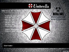 Umbrella OS Wallpaper by kazemaru