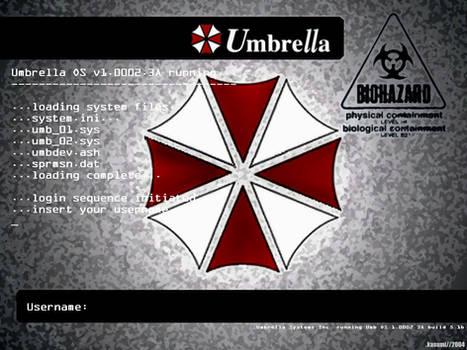 Umbrella OS Wallpaper