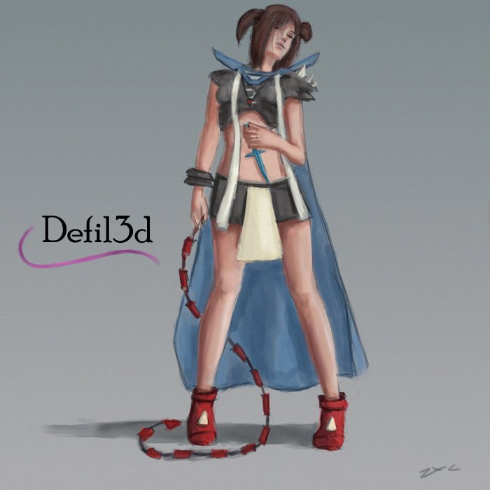 Entry for defil3d's comp by ZxC-Kate