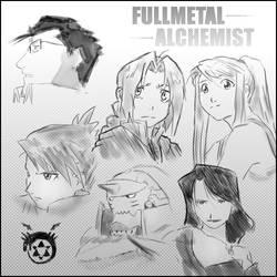 Fullmetal alchemist chars