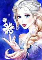 Elsa FROZEN by AnALIBI
