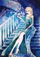 Beautiful Elsa by AnALIBI