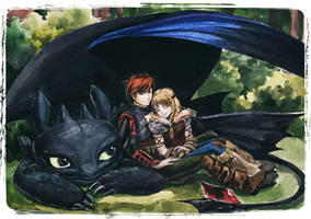 how to train your dragon by AnALIBI