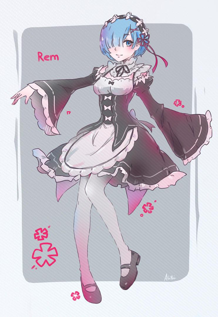 Rem re zero by AnALIBI