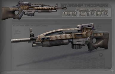 Starship Troopers: Morita Rifle