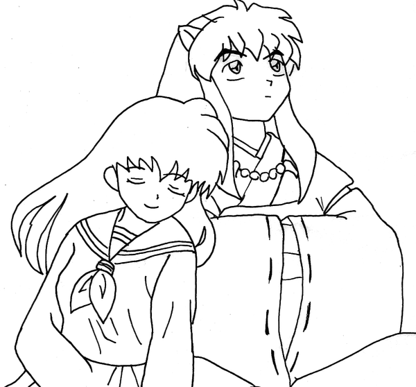 Inuyasha And Kagome Together By Wolven Sorceress