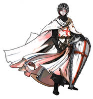 Templar by Celes-Silvertears