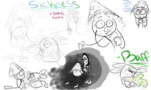 Sickness Fanfic Sketches
