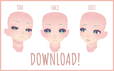 [mmd] TDA Face Edit #1 [download] by detheye