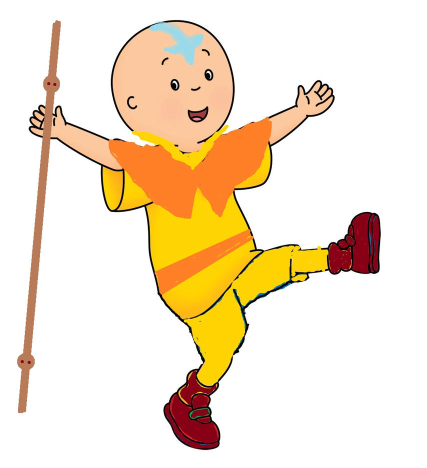 Caillou - The Last Airbender by LightsaberGuy