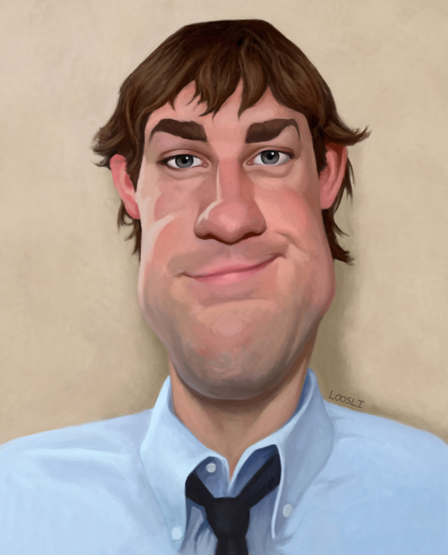 Jim Painting by infernovball