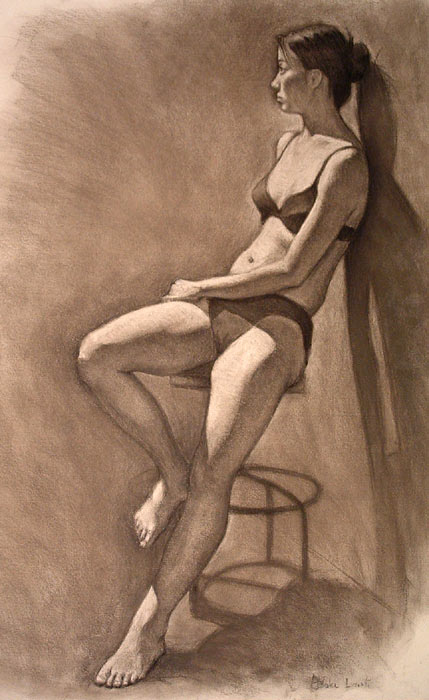 12hr figure drawing by infernovball